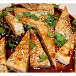 Sesame Soy-Glazed Tofu