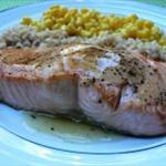 Broiled Salmon With Lemon Sauce