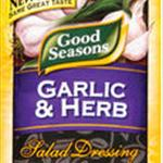 Good Seasonings Garlic & Herb Dressing