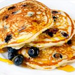 Buttermilk and Blueberry Pancakes